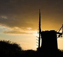 Windmill in Norfolk #2 by Alex Wagner