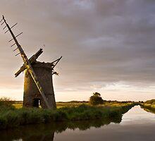 Windmill in Norfolk #1 by Alex Wagner