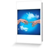 michelangelo Greeting Card