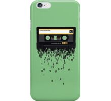 The death of the cassette tape. iPhone Case/Skin