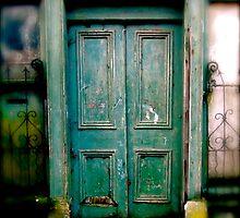 Curiosity opens the door by Rebs O