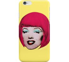 Bob Marilyn Monroe Variant 1 iPhone Case/Skin