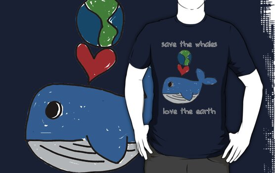 save the whales, love the earth by dale rogers