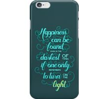 Dumbledore quote - Harry Potter iPhone Case/Skin