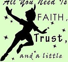 Peter Pan Quote - Disney by peetamark