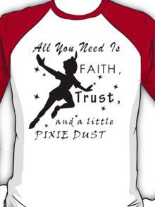 Peter Pan Quote - Disney T-Shirt