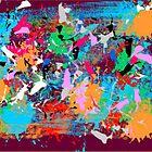 ( BUFFALO JUMP ) ERIC WHITEMAN  ART  by eric  whiteman