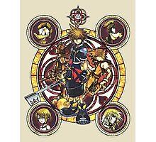 Sora and all Characters - Kingdom Hearts Photographic Print