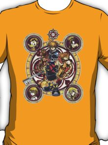 Sora and all Characters - Kingdom Hearts T-Shirt