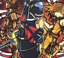 Sora and all Characters - Kingdom Hearts Sticker