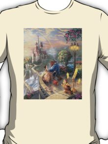 The Beauty and The Beast Disney - All Characters T-Shirt