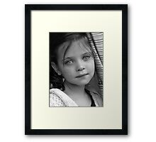 Friday Night Portrait II Framed Print