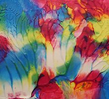"""Tropical"" original artwork by Laura Tozer by Laura Tozer"
