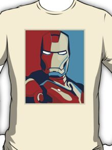 Ironman Obamized Style - Nerdy Must Have T-Shirt