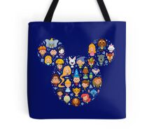 Disney Movies - All Characters Tote Bag