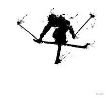 Ski jump by Richard Eijkenbroek