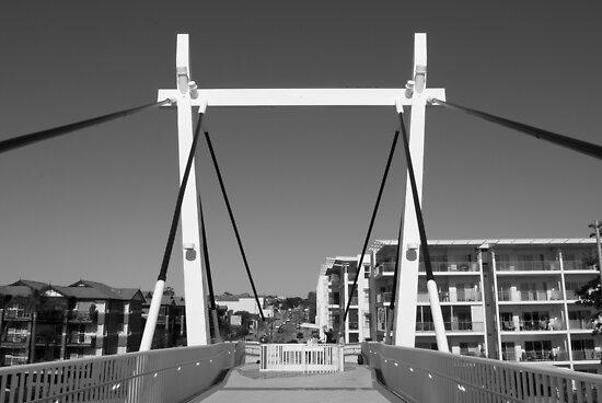 Como Jetty Bridge by palmerphoto