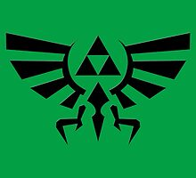 The Legend of Zelda - Triforce Symbol by peetamark