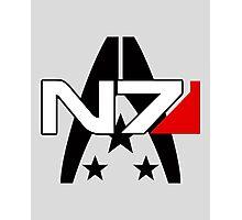 Normandy Alliance Symbol - Mass Effect Photographic Print