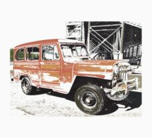 Willys Wagon by haystackeng