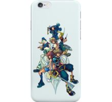 Kingdom Hearts - Sora and All the Others Lovely Portrait iPhone Case/Skin