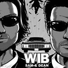 Winchesters in Black by dauntlessds
