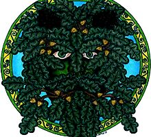 the green man (Mighty Oak) by CherrieB
