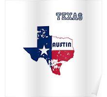Austin Texas. Alternative version. As worn by Kurt. Poster