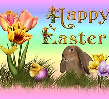 Happy Easter by Annika Strömgren
