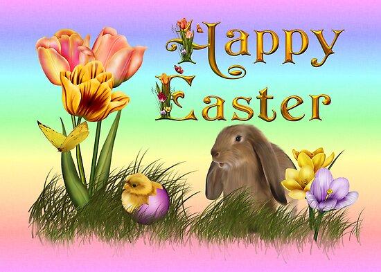 Happy Easter by Annika Strömgren