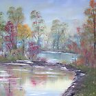 Autumn Reflections by Cynthia Kondrick