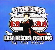 STEVE BRULE'S LAST RESORT FIGHTING Dr. Steve Brule Design by SmashBam by SmashBam