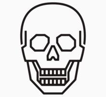 Skull Line Logo by JamesShannon