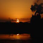 Sunset In Historic Georgetown by Kathy Baccari
