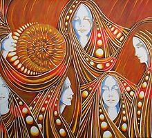 Ammonite by Deborah Holman