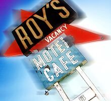 roy's, route 66, california by brian gregory