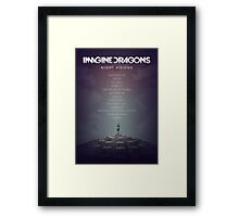 Imagine Dragons - Night Visions Poster Framed Print