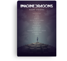 Imagine Dragons - Night Visions Poster Canvas Print