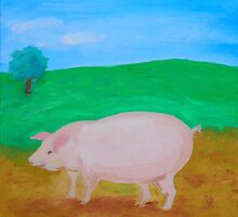 Wilbur, the Potbelly Pig by Joni Philbin