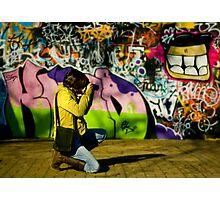 The Graffiti Artist! Photographic Print
