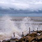 Stormy Seafront by Susie Peek
