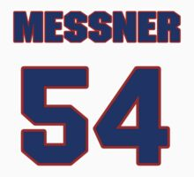 National football player Max Messner jersey 54 by imsport
