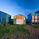 Whitstable Beach Huts by Andrew Jackson