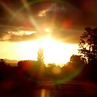Sunset, New Zealand by Emma Close