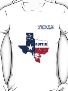 Austin Texas. Alternative version. As worn by Kurt. T-Shirt
