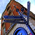 London, sign post by Emma Close