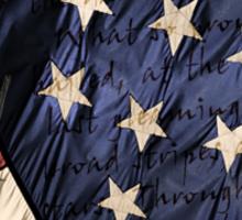 American Eagle - Flag Sticker