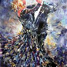 Ballroom Dancing Art Gallery - Elegant Couple by Ballet Dance-Artist
