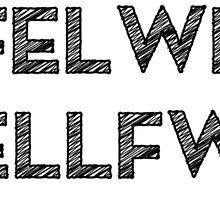 Rhyfelwraig Bysyddfwrdd by Hywel Edwards