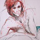 Nude Redhead by Moira  McClaren